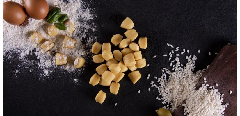 Riso, Gnocchi e Tortellini - Diffusione alimentari di Gambuti - la qualità in tavola